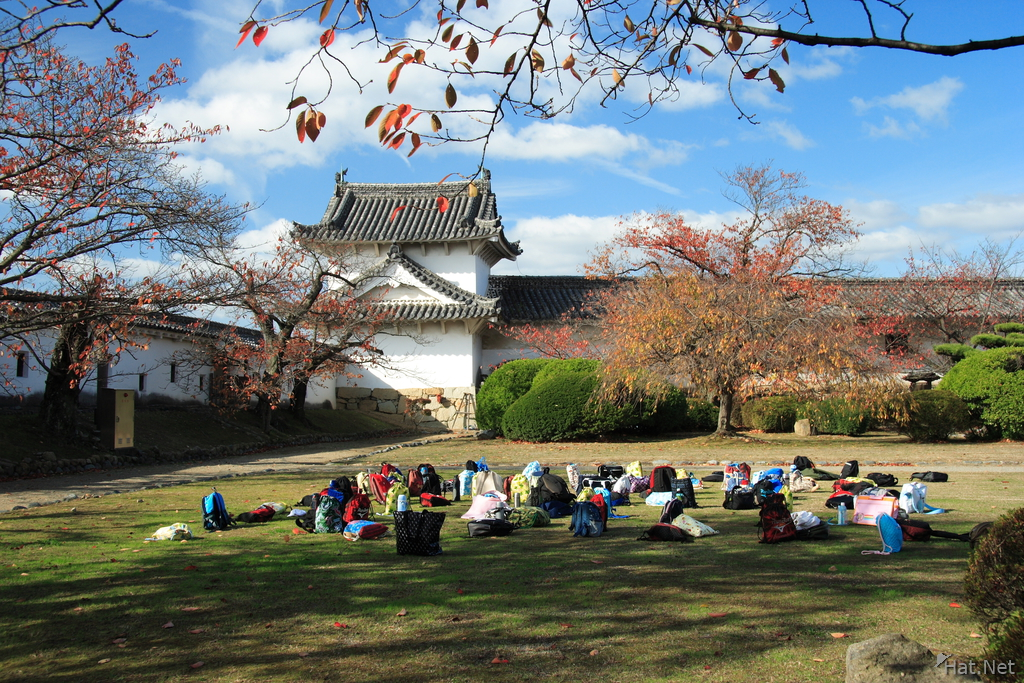 view--himeji school outing