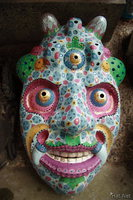 view--kada - colorful ghost mask