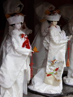 view--kada - japanese bride doll in traditional costume