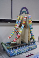 grade 6 - candy and thread roll boat