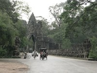 south gate of angkor thom Siem reap, South East Asia, Cambodia, Asia