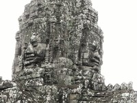 bayon temple Siem reap, South East Asia, Cambodia, Asia