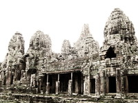 bayon Siem reap, South East Asia, Cambodia, Asia