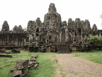 bayon temple complex Siem reap, South East Asia, Cambodia, Asia