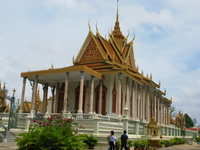 emerald buddha temple Phnom Penh, South East Asia, Vietnam, Asia