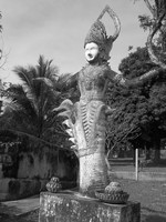 goddess swallowed by dragon Vientiane, South East Asia, Laos, Asia