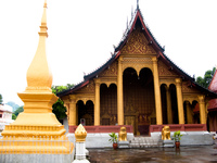 laos temple Luang Prabang, South East Asia, Laos, Asia