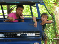 children of luang prabang Luang Prabang, Vientiane, South East Asia, Laos, Asia