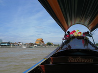 thai canal boat Bangkok, South East Asia, Thailand, Asia