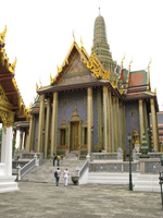 the royal pantheon - prasat phra dhepbidorn Bangkok, South East Asia, Thailand, Asia