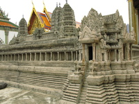 model of angkor wat Bangkok, South East Asia, Thailand, Asia