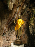 buddha guard Kanchanaburi, South East Asia, Thailand, Asia