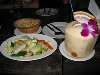 food--bangkok dinner at khinlom chom sa phan Siem Reap, Bangkok, South East Asia, Cambodia, Thailand, Asia