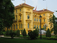 presidential palace Hanoi, South East Asia, Vietnam, Asia