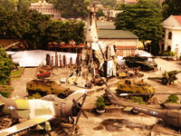 us air force art Hanoi, South East Asia, Vietnam, Asia