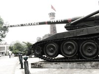 self-propelled howitzer 175mm Hanoi, South East Asia, Vietnam, Asia
