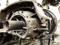b52d bomber engine Hanoi, South East Asia, Vietnam, Asia