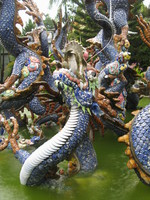 porcelain dragon Hue, Hoi An, South East Asia, Vietnam, Asia
