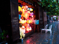 lantern booth Hue, Hoi An, South East Asia, Vietnam, Asia