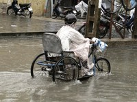 all terrain tricycle Hoi An, South East Asia, Vietnam, Asia