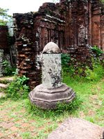 hindu lingam of my son Hoi An, My Son, South East Asia, Vietnam, Asia