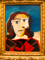 portrait of dora maar by pablo picasso Granada, Madrid, Andalucia, Capital, Spain, Europe