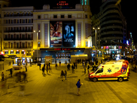 view--plaza callao Madrid, Capital, Spain, Europe
