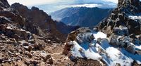 view--toubkal Imlil, Atlas Mountains, Morocco, Africa