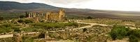 view--volubilis temple of jupiter Meknes, Moulay Idriss, Imperial City, Morocco, Africa