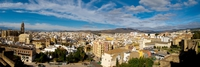 view--malaga city view Malaga, Andalucia, Spain, Europe