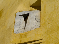 view--islam sundial Meknes, Imperial City, Morocco, Africa