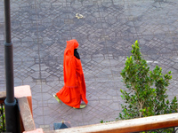 view--red mystery Marrakech, Interior, Morocco, Africa