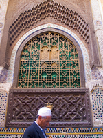 meknes msoque window Fez, Imperial City, Morocco, Africa