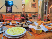 vegetarian breakfast in hotel etoler Marrakech, Imperial City, Morocco, Africa