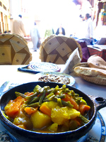 veggie tagine at thami Fez, Imperial City, Morocco, Africa