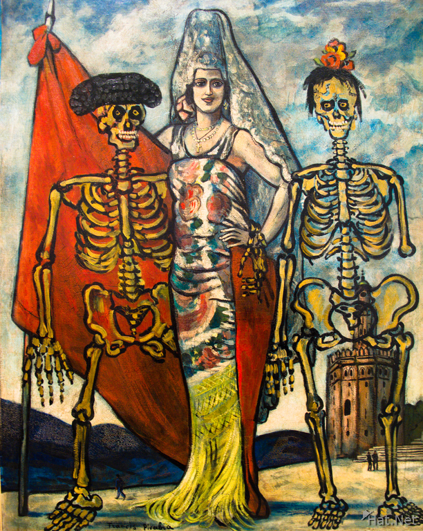 view--the spanish revolution 1937 by francis picabia