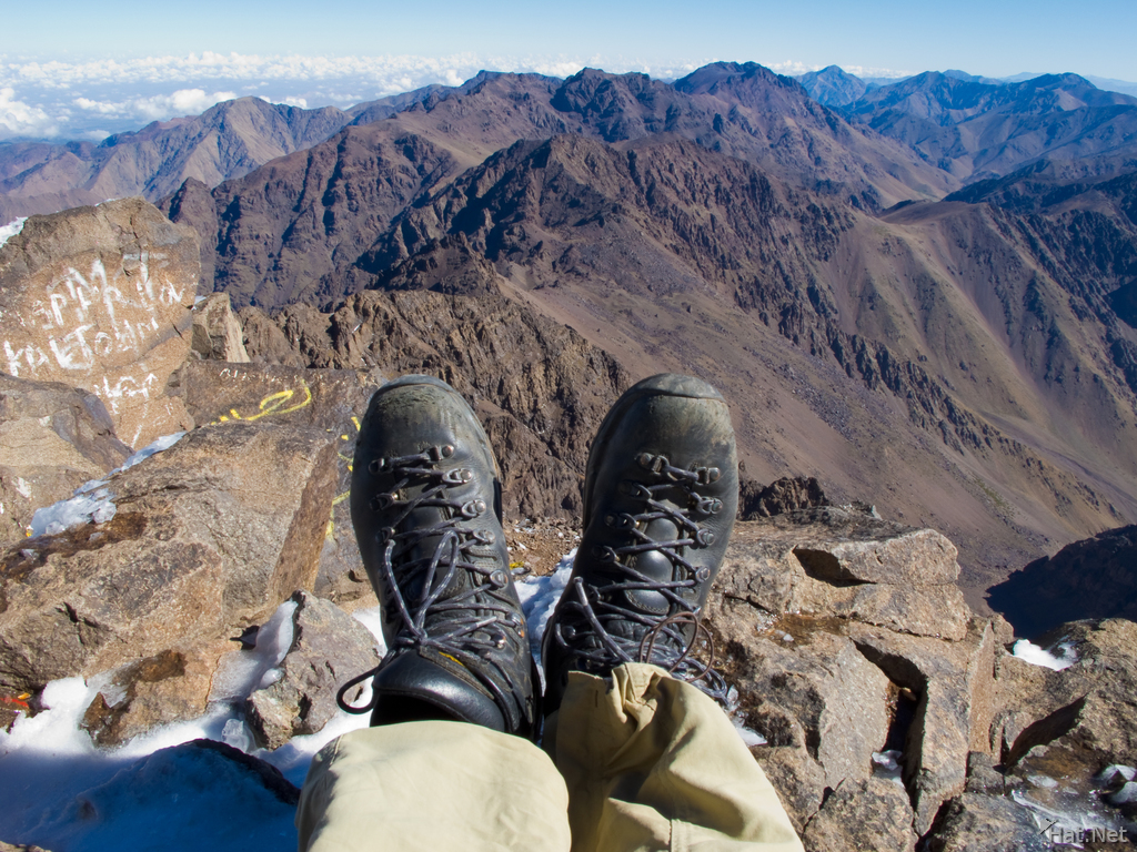view--hiking toubkal