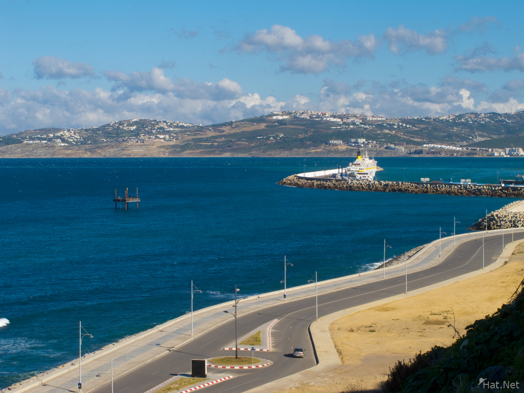 view--tangier port