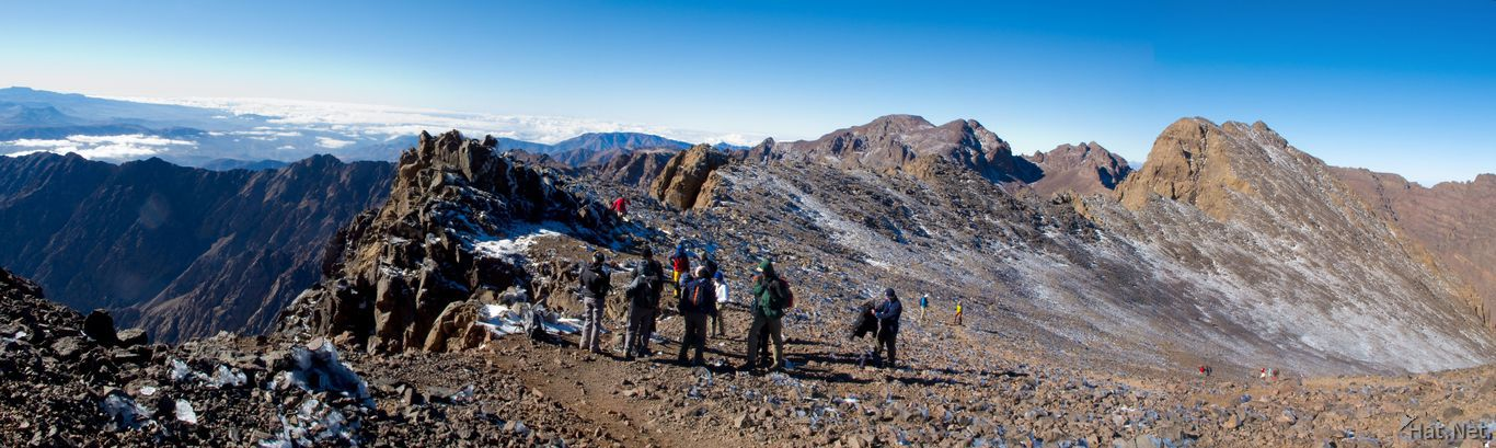 view--summit of toubkal