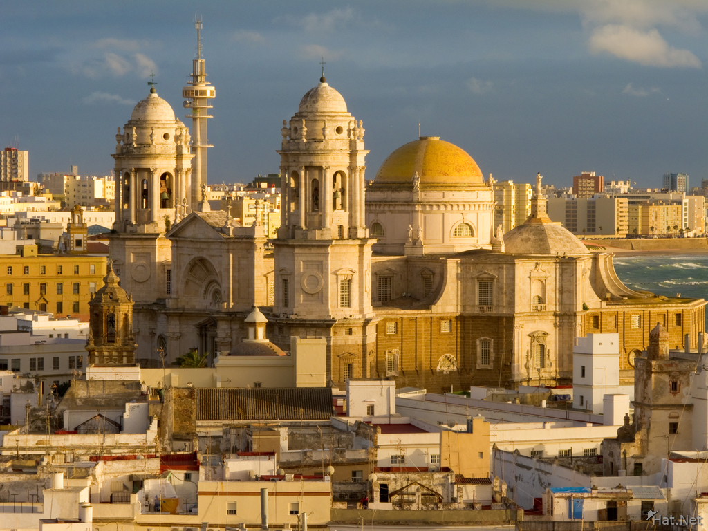 view--cadiz cathedral from torre tavira