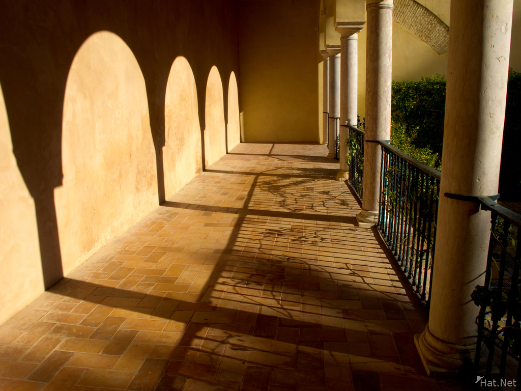 view--corridor to garden of troy